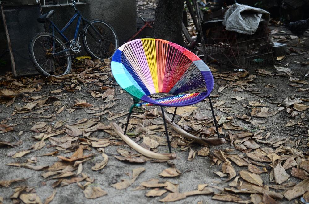 Tucurinca Tres rocking chair, 399 euro.