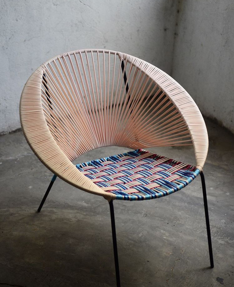 Tucurinca tres easy chair, 385 euro.