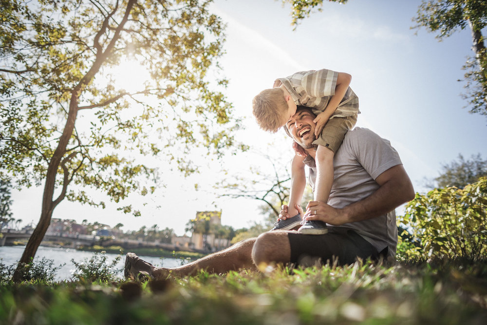 Father-Son-Shoulders-Enjoying-Summer-Park-X2.jpg