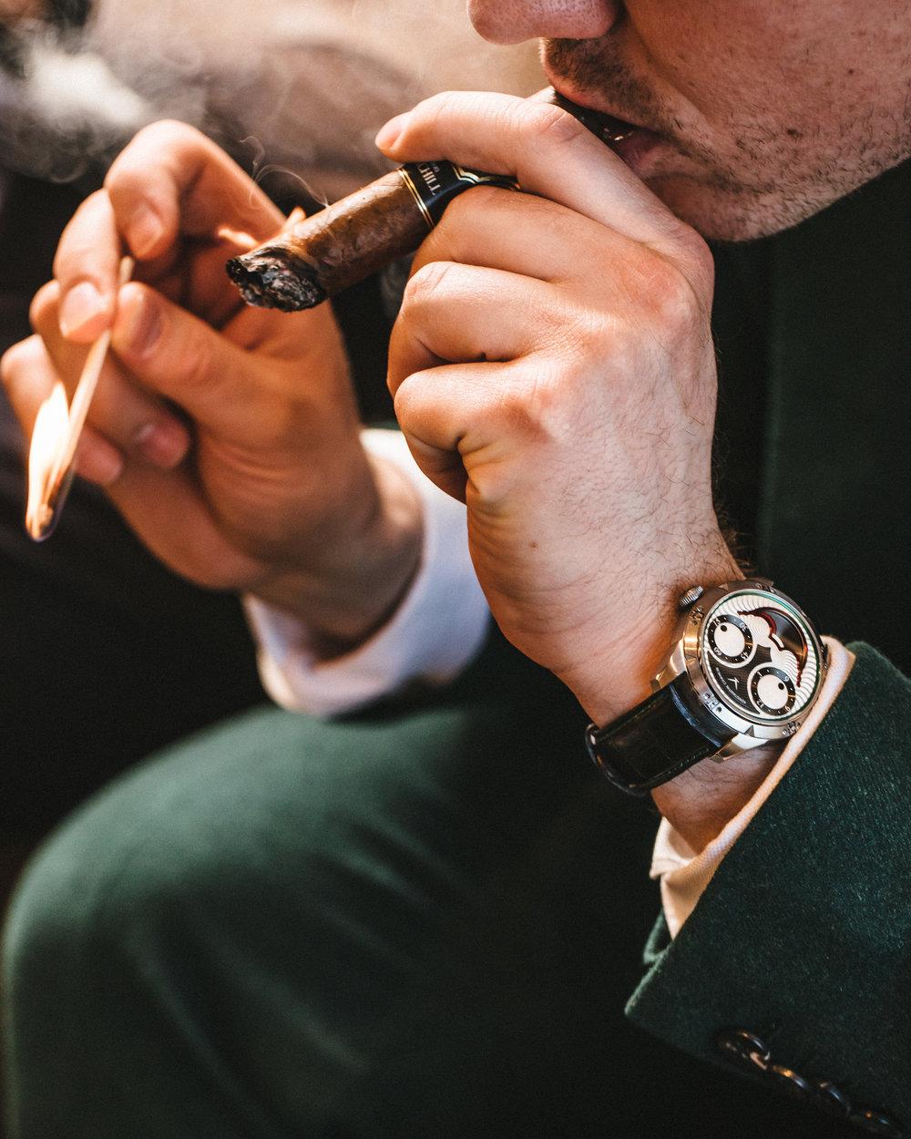 The Konstantin Chaykin Joker piece unique on the wrist of Swisswatchgang