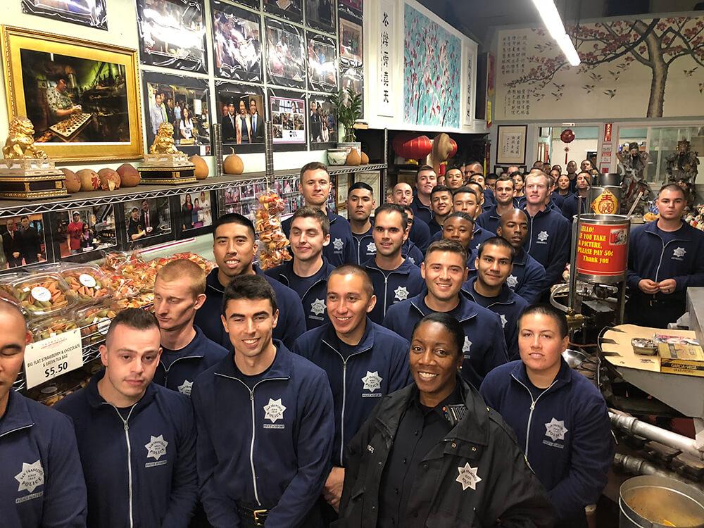 SF Police Department Cadet Visit 2018