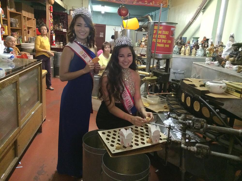 Miss Chinatown Visit