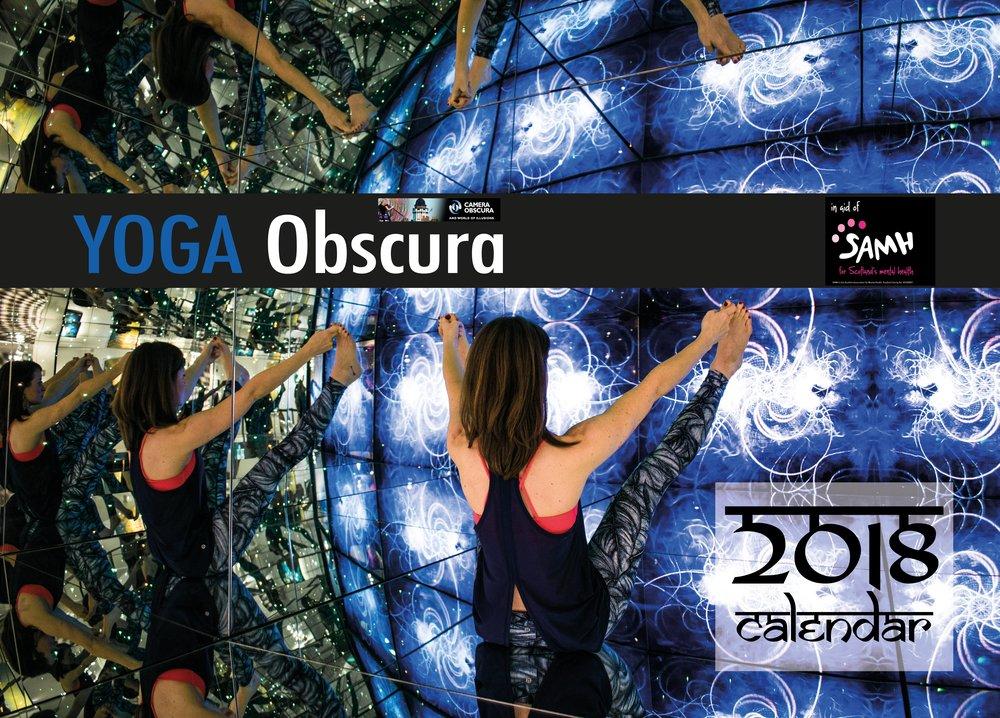 Charity fundraising Yoga Calendar