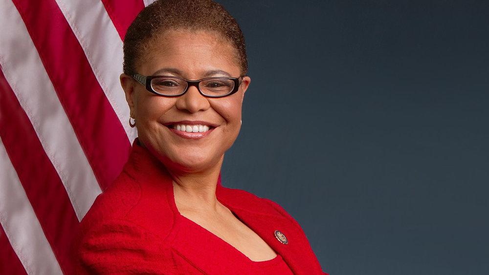 Rep. Karen Bass - D-CA 37th District