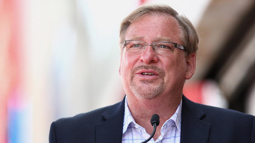 Dr. Rick Warren - Founder and Pastor of Saddleback Church, Author