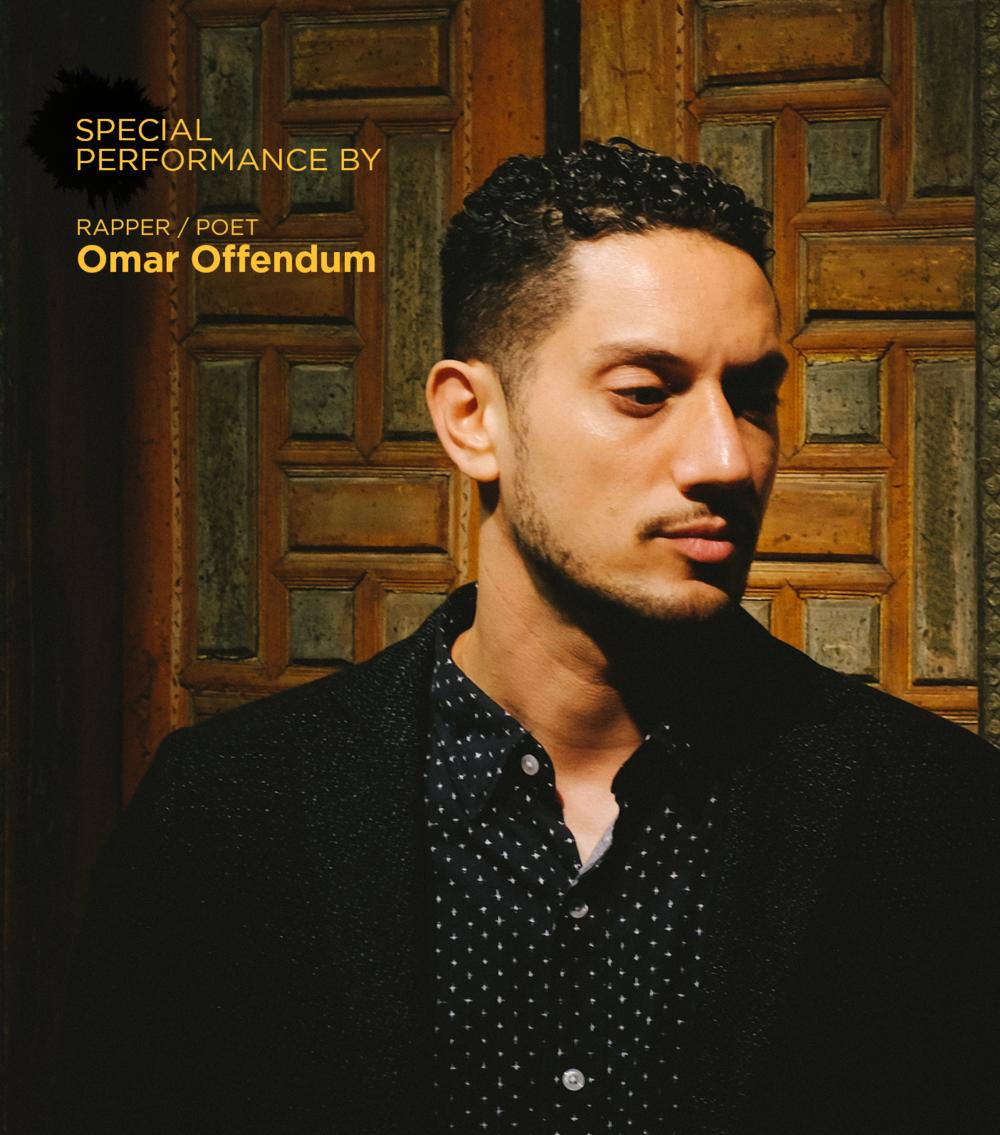 OMAR OFFENDUM - Rapper / Poet