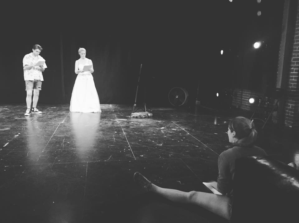 Cast: Henry Hetz, Hailey McAffee, Alex Tracy; Written by Rosie Glen Lambert; Directed and Sound Design by Lily Sorenson; Lighting Design by Joey Guthman; Costume Design by Rebecca Carr.