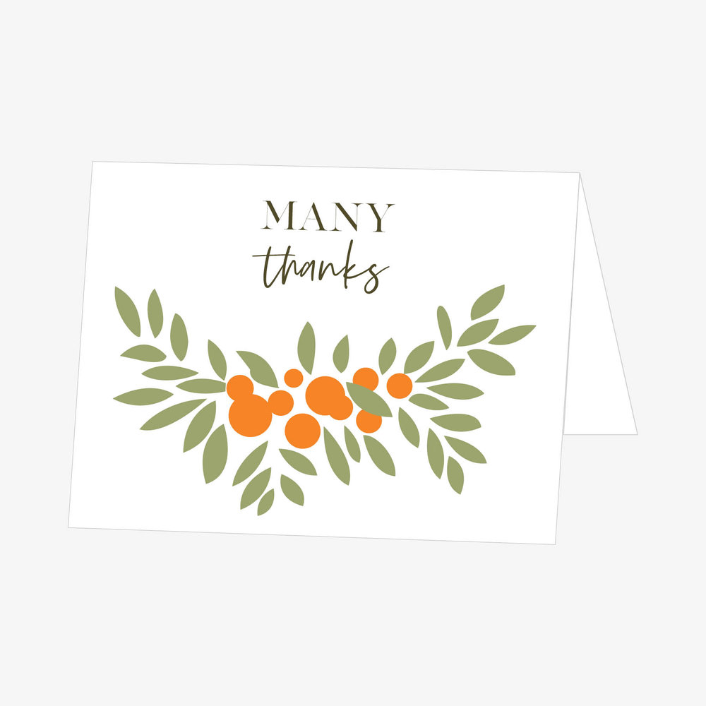 The Sarah Thank You Cards Doyle Paper Co Tampa Wedding