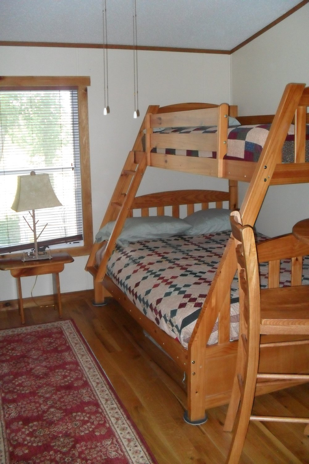 The Cabin: Prairie outer bedroom
