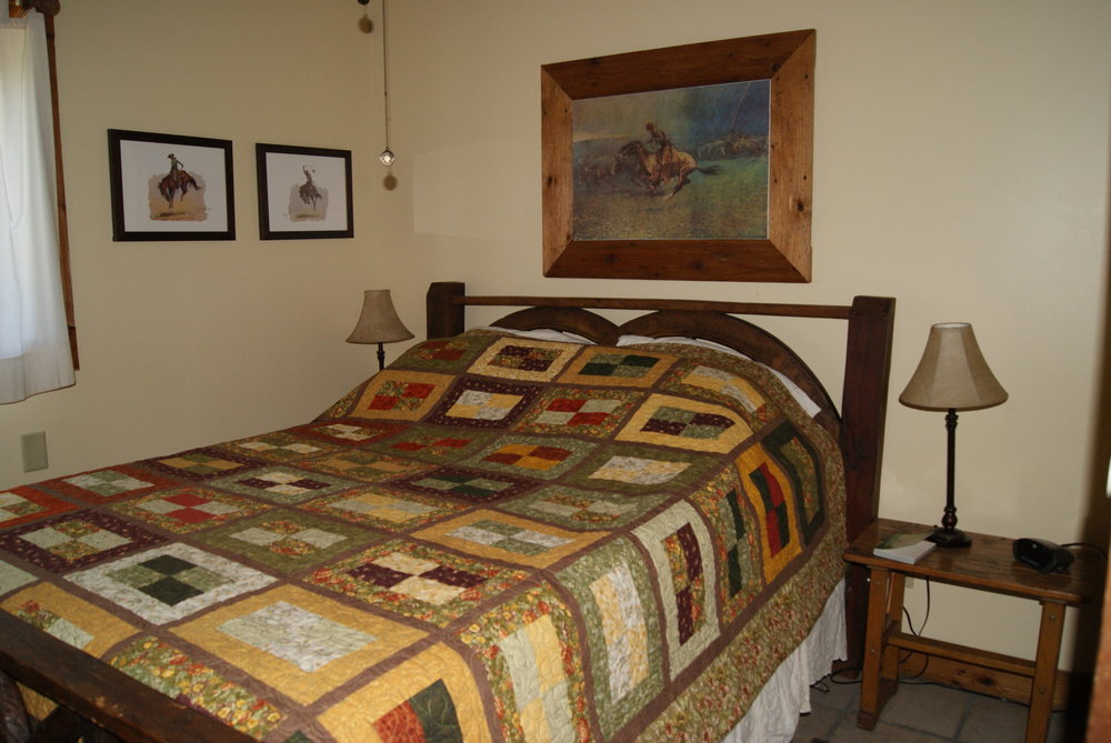 The Lodge West lower bedroom #1