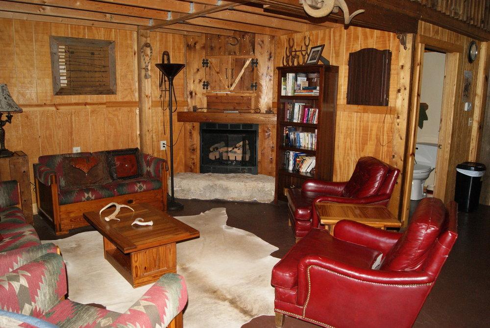The Lodge East lounge area
