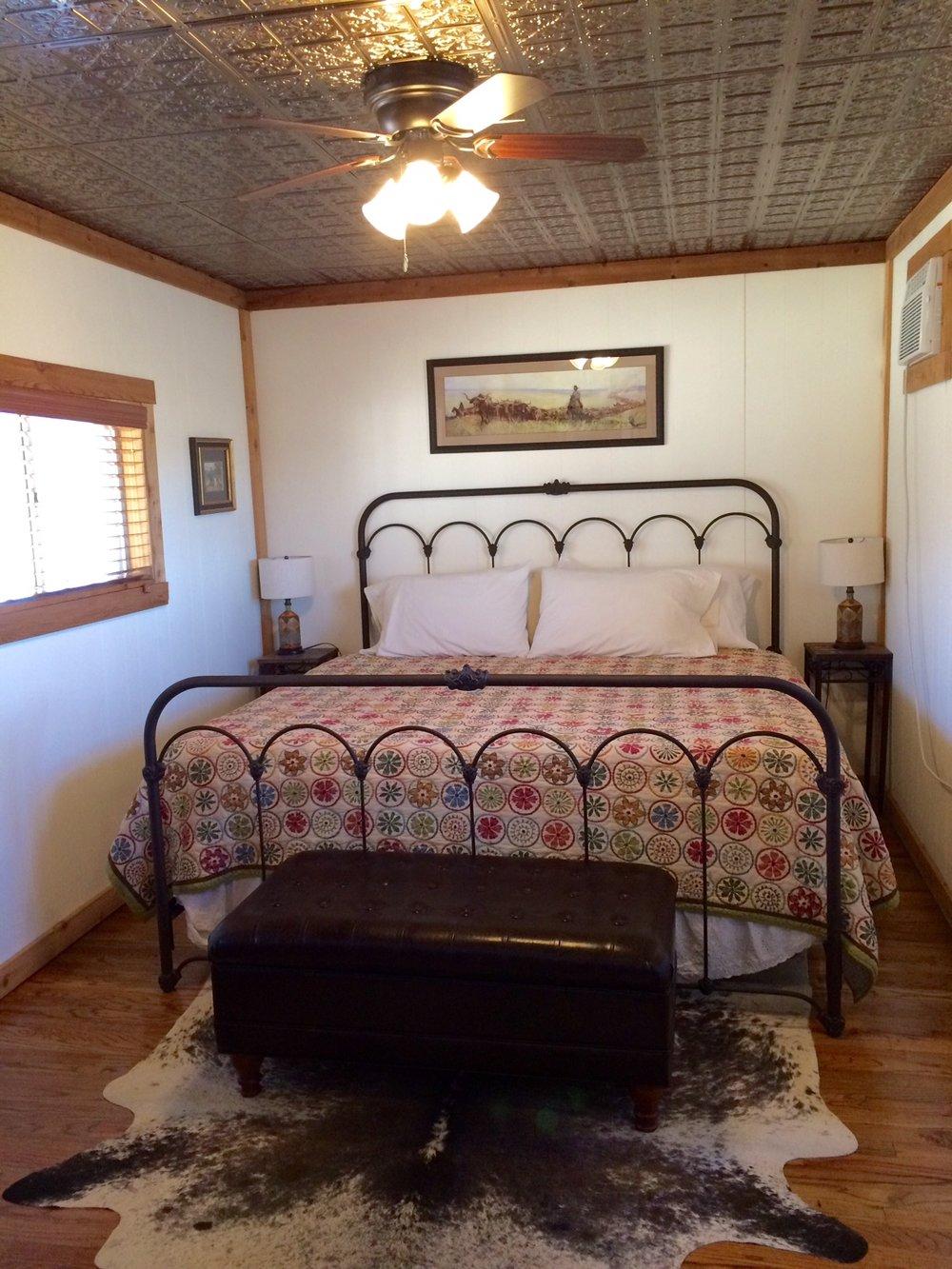 The Calaboose bedroom
