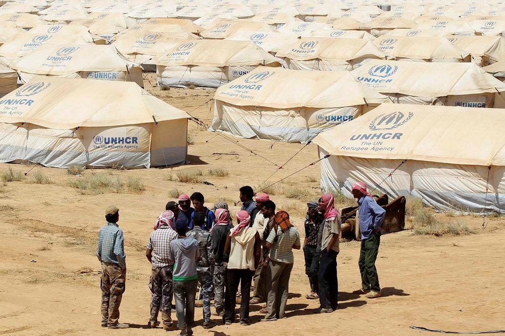 UNHCR's Zaatari Refugee Camp in Jordan. Photo by William Proby.