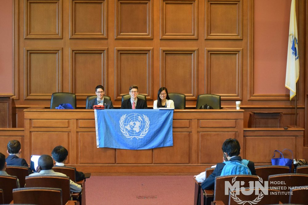 Photo from the Best Delegate Model United Nations Institute