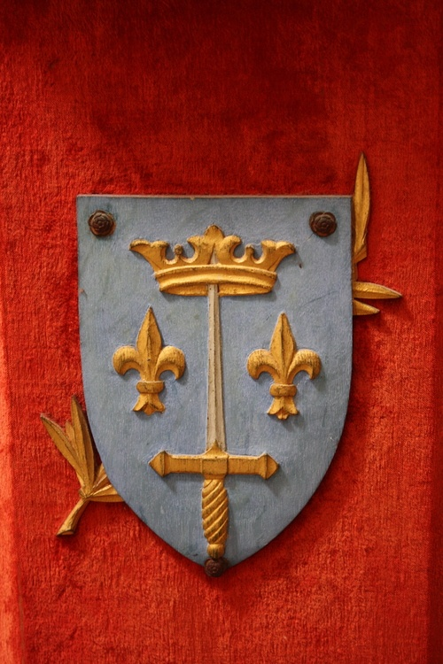 Joan of Arc's Coat of Arms, circa 1412 - 1431 CE