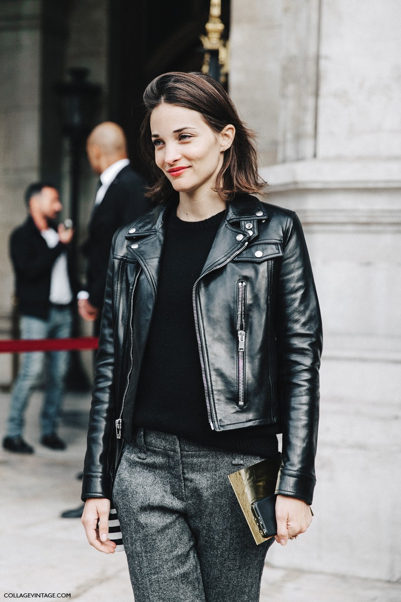 PFW-Paris_Fashion_Week-Spring_Summer_2016-Street_Style-Say_Cheese-Maria_Dueñas-Biker_jacket--790x1185