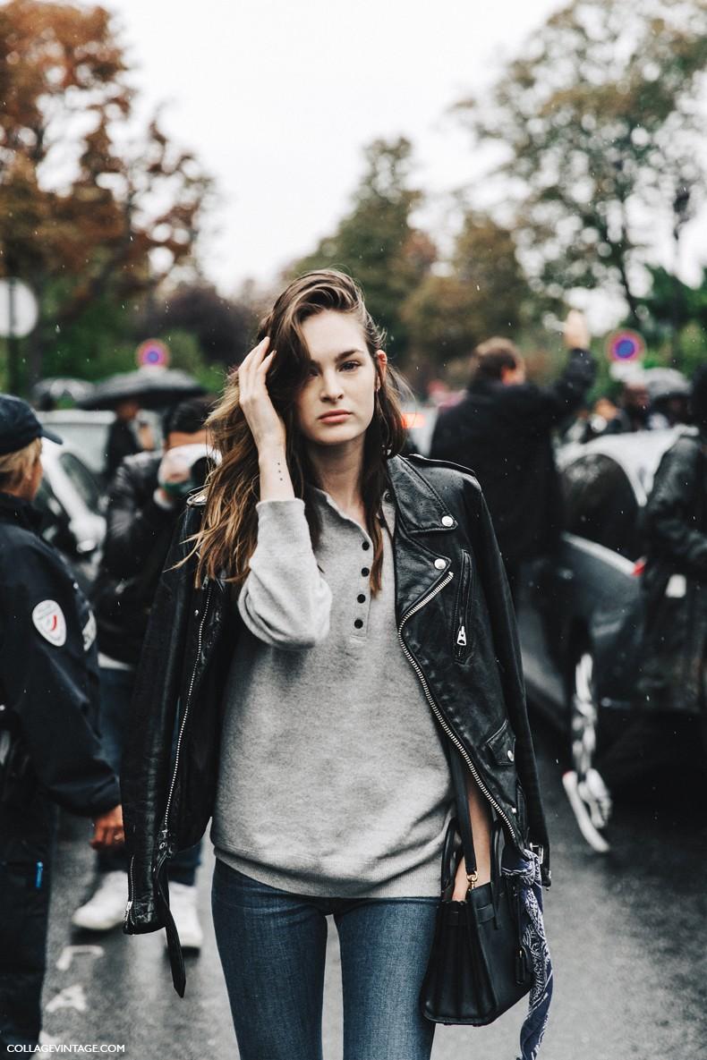 PFW-Paris_Fashion_Week-Spring_Summer_2016-Street_Style-Say_Cheese-Model-Biker--790x1185