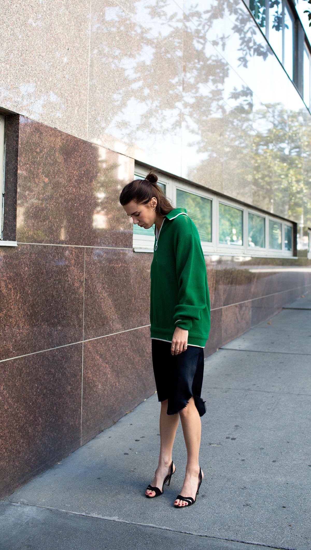 Nili-Lotan-vintage-green-sweater-2
