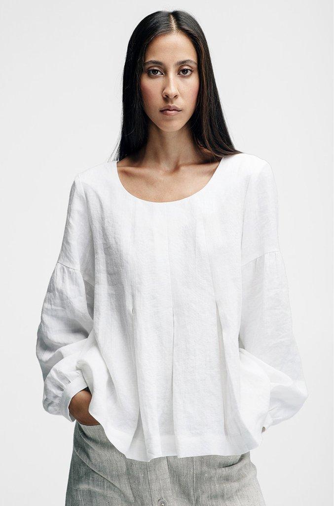 16528c7907d00 horses ss-17 tops front-pleat-blouse-white 1 v1 1024x1024.jpg