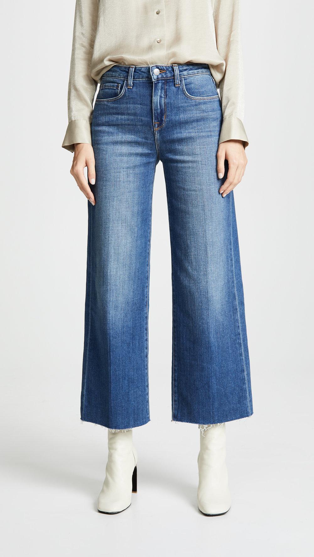 l'angence danica wide leg jeans
