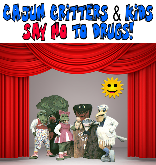 Seymore D Fair and the Critters   1987 Just Say No to Drugs Legacy Program