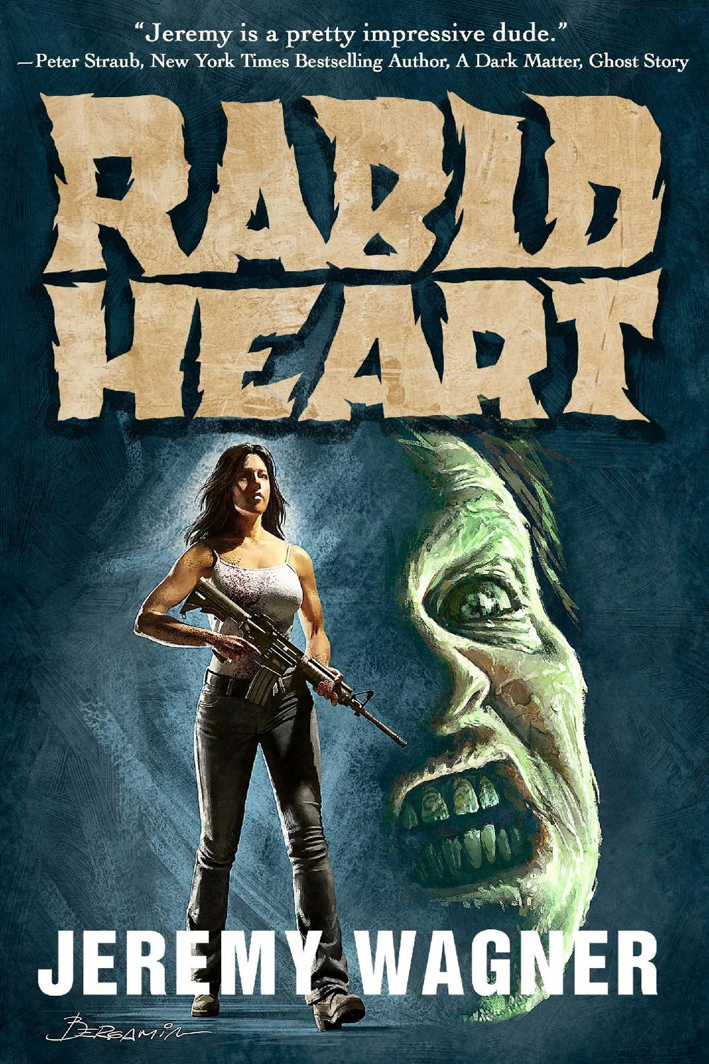 RABID HEART  - How far would you go for love when all you love is DEAD?Six months after the Necro Rabies pandemic has turned the world into hordes of rabid undead known as