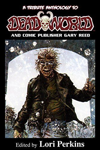 Dead Word - Deadworld is a graphic novel series that started in 1986 (and continues till this day) that follows survivors in a post-apocalyptic world brought on by zombie attacks led by the King Zombie, an intelligent zombie.The Deadworld universe has so much more to offer than just humans slaughtering zombies.this Tribute to Deadworld and gary reed features stories, Insights, and articles by Kevin VanHook, Thomas Monteleone, Jason Henderson, Andrew Robertson, Jennifer Williams, Ken Haigh, Sarah Stegall, Jamie K. Schmidt, George Ivanoff and Jeremy Wagner.