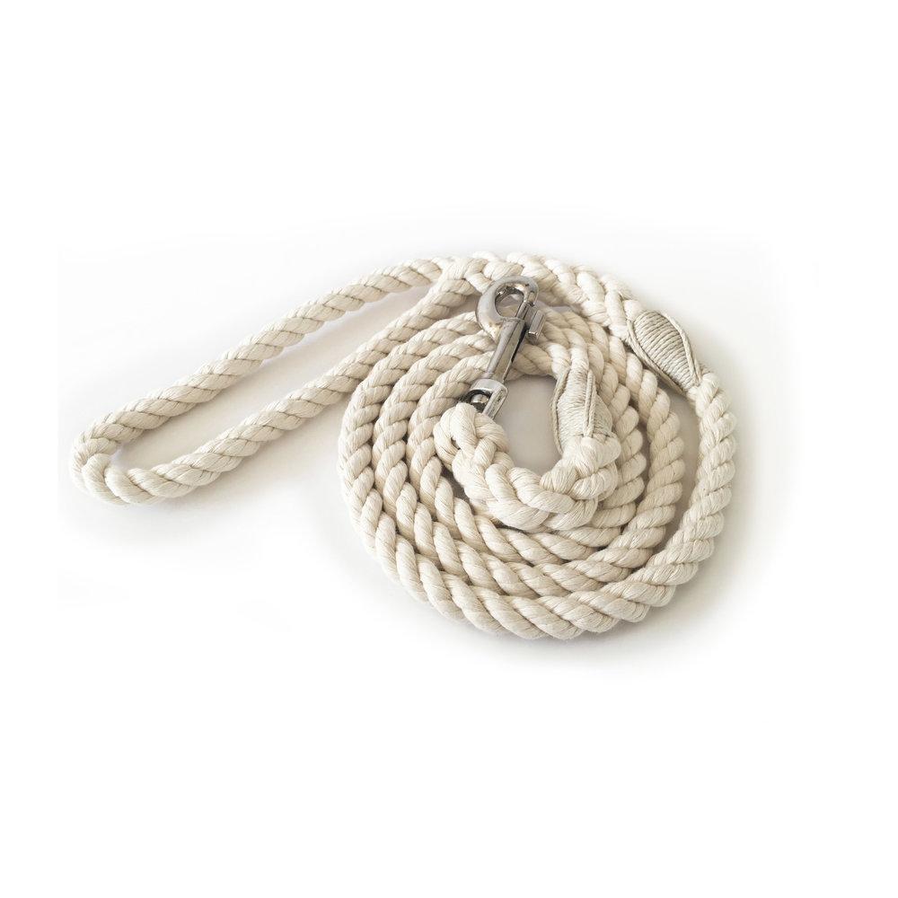 Organic cotton leash