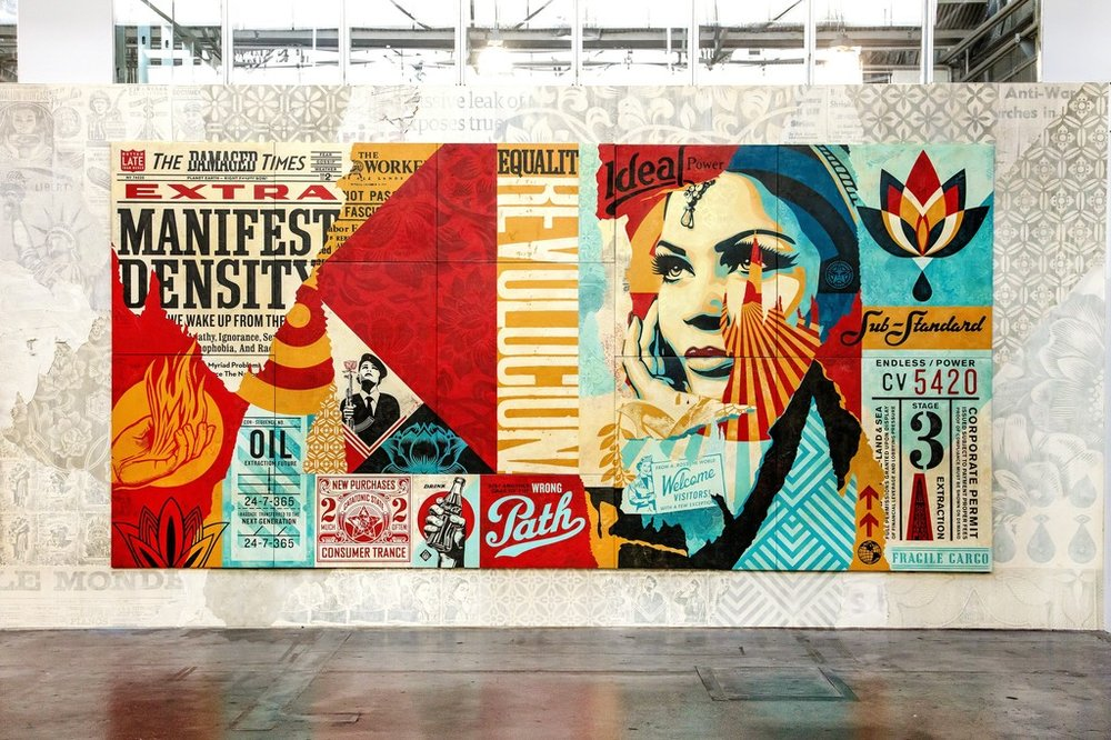 shepard fairey 'damaged'