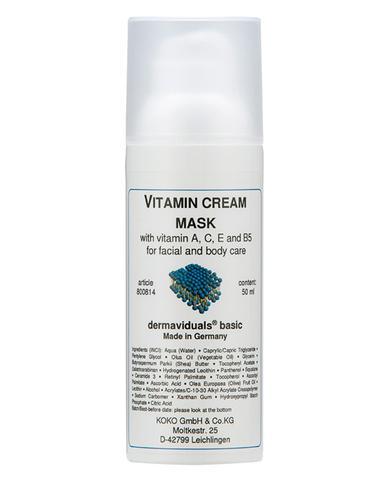 Vitamin Cream Mask
