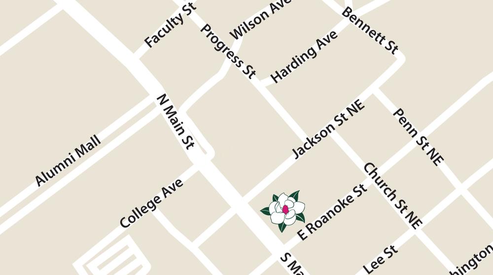 LOCATION - 102 N. Main StreetBlacksburg, VA 24060(540) 739-3724