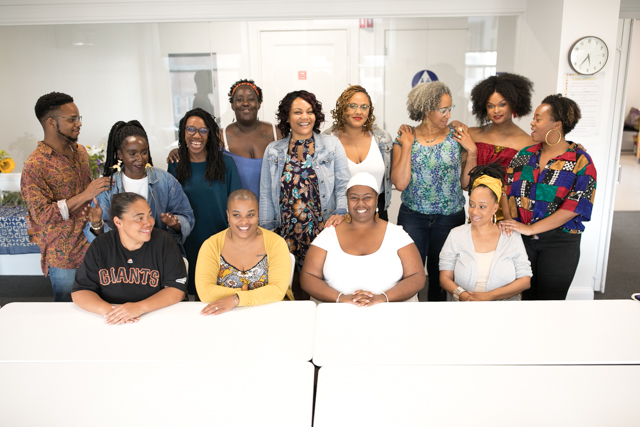 Channel Black 2018, The Black Mama's Storytelling Fellowship  Photo by @greentangerinephotography