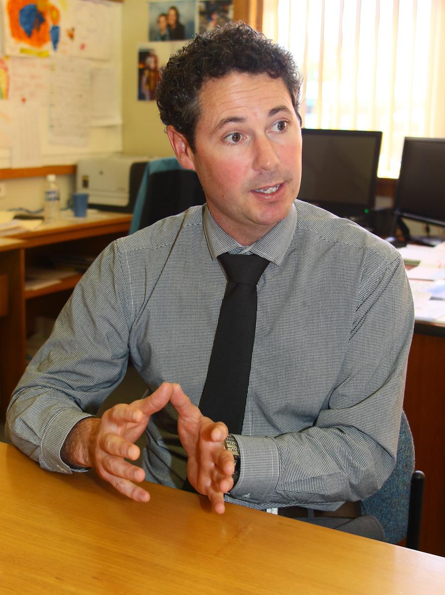 Benjamin Frerk Principal Deloraine High School 2015