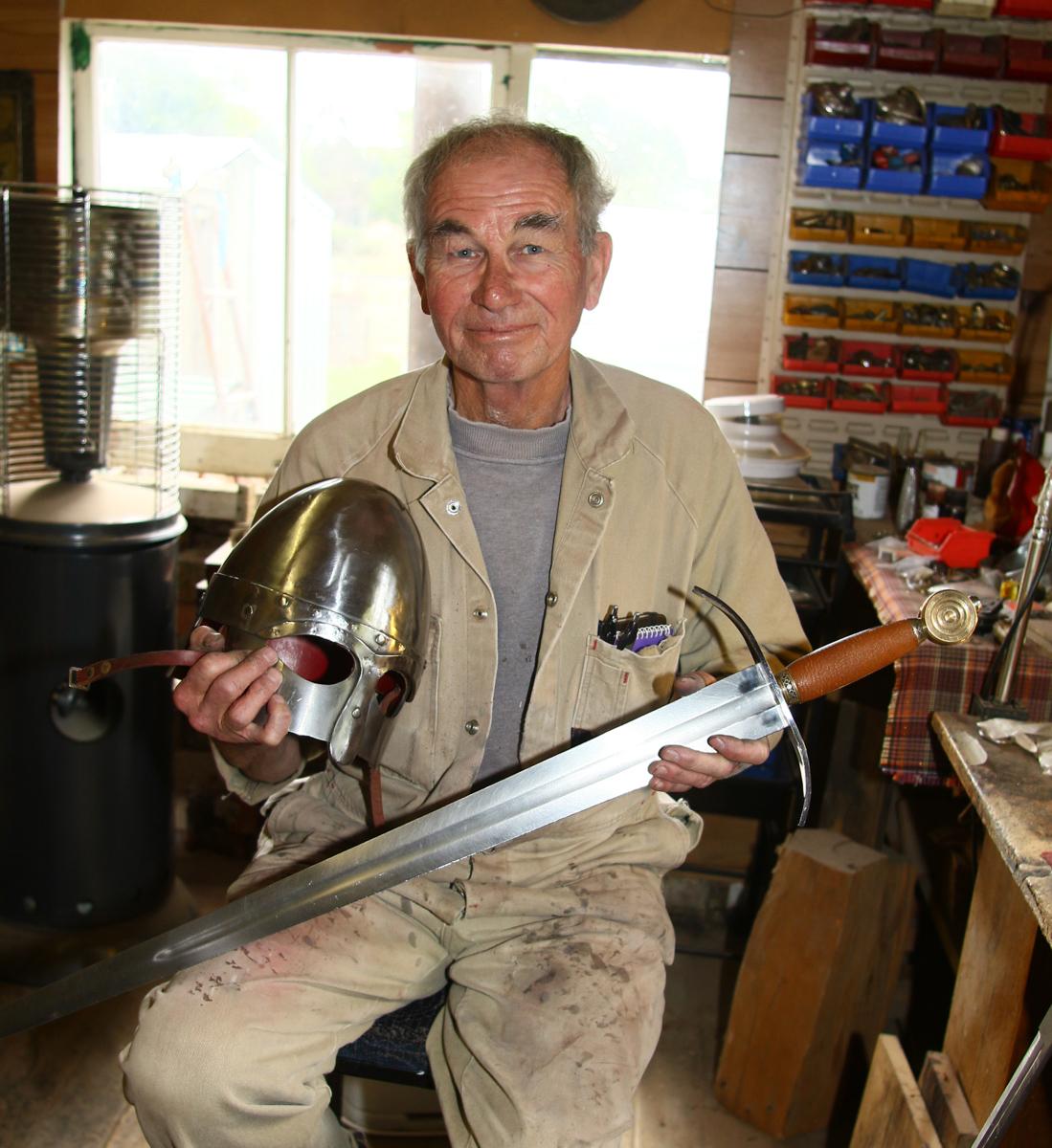 Ken Bradford of Bismarck Metalcraft Deloraine