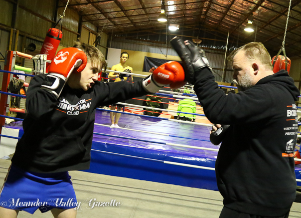 Bailey Boxing club Prospect Vale