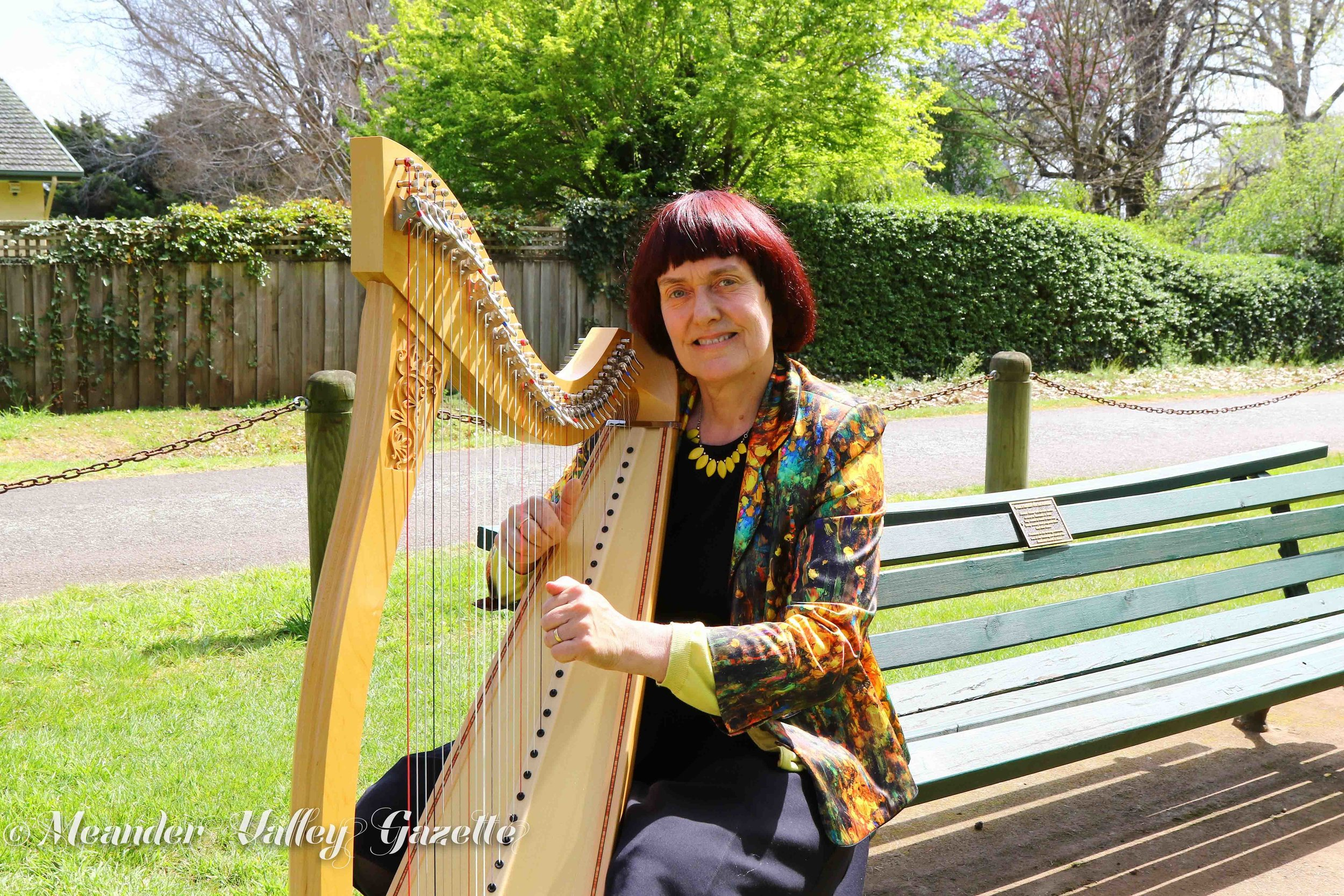 Judy Crees-Morris workshop participantone of those going to France 6and a half thousand dollar french harp