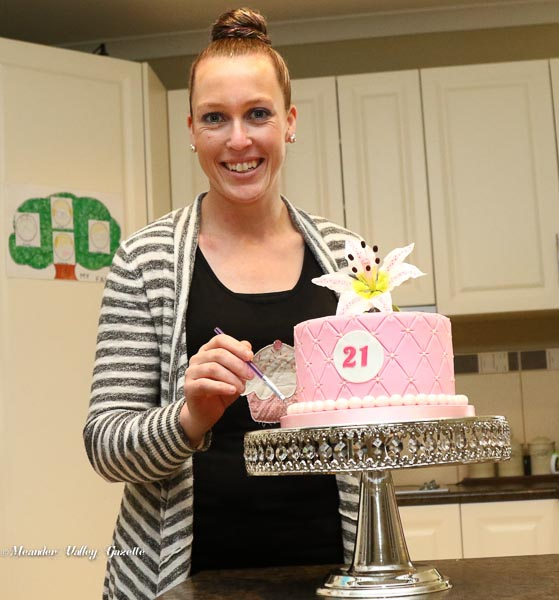 Beccalicious Cake maker Rebecca from Meander