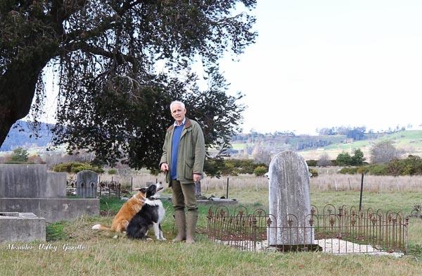 John Hawkins of Chudleigh in the Church of England Graveyard