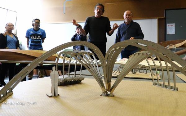 mark-bagguley-utas-lecturer-with-tim-biggs-director-of-tasmanian-craft-fair