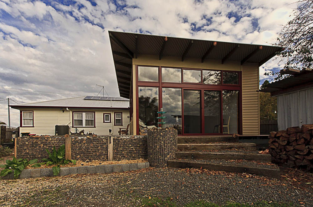 Sustainable house at Westbury.