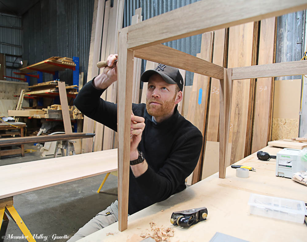 Launceston's Simon Ancher will be demonstrating the use of hydrowood at this year's Craft Fair.