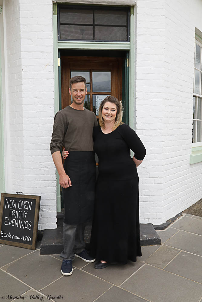 Nick and Hayley Brazendale have recently opened the 'Green Door' café restaurant and apothecary in Westbury.