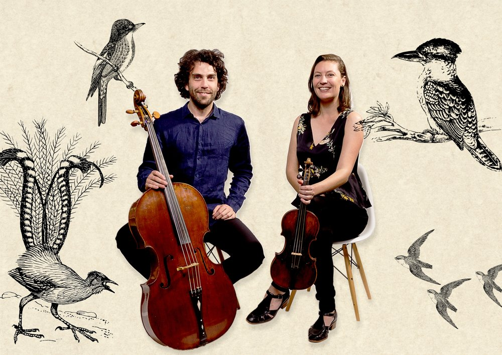Young Australian classical musicians Anthony Albrecht and Simone Slattery will perform at Deloraine's Little Theatre.