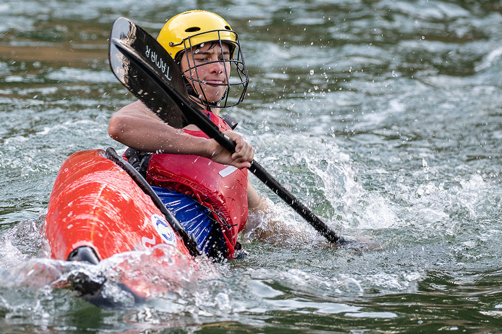 Dominic Grose has been selected for Tasmania's Junior Team at the National Canoe Polo Championships held over Easter.