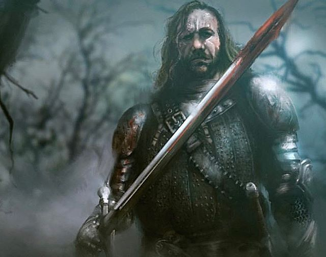Game of Thrones hype! The Hound is going to be the last one standing. Tell me I'm wrong!