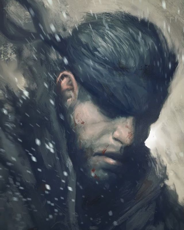 The man. The myth. The legend. Solid Snake!