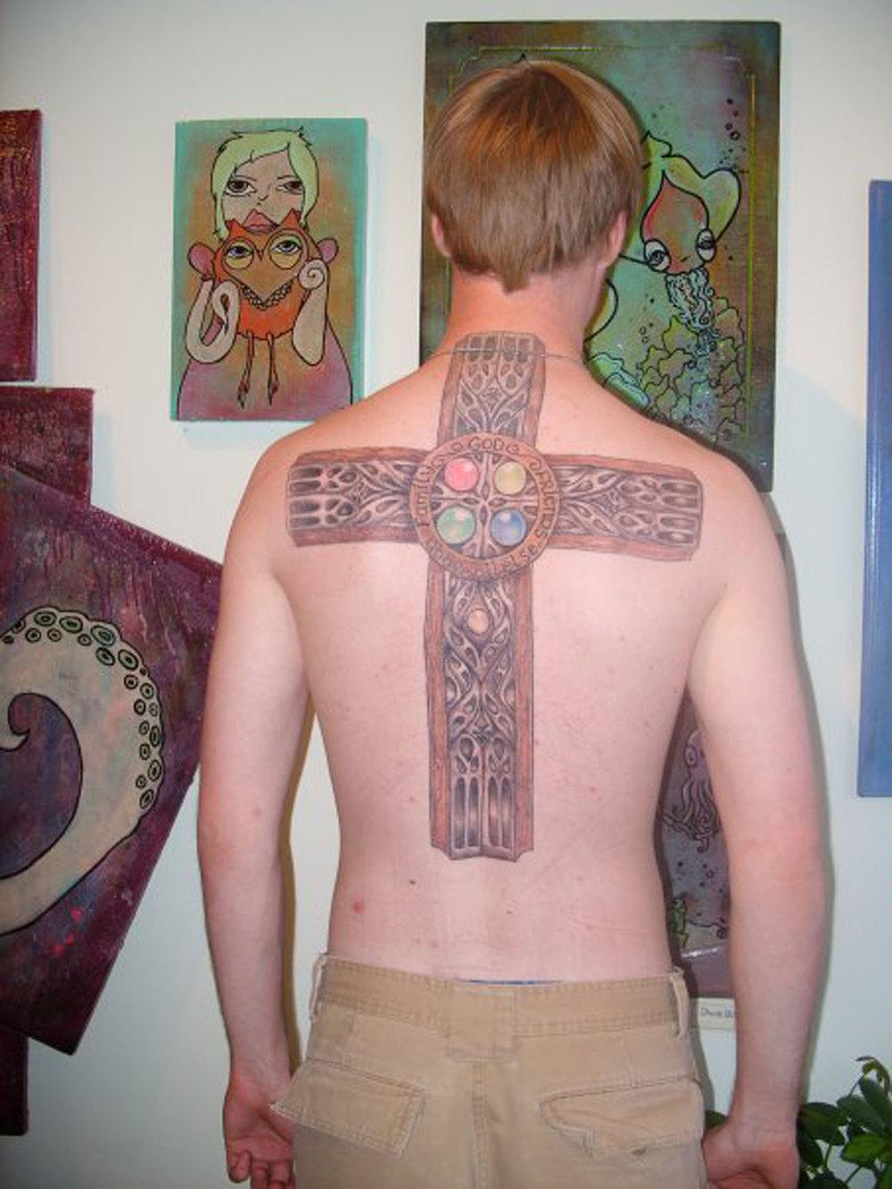 david's cross 2005