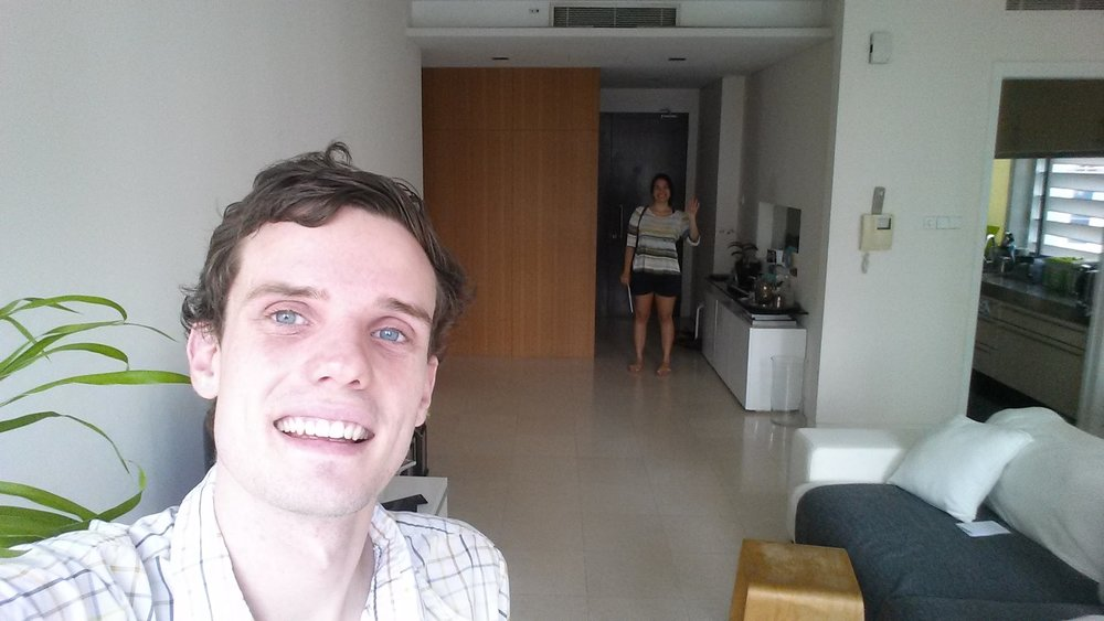 I came back for another month in an airbnb in Singapore!