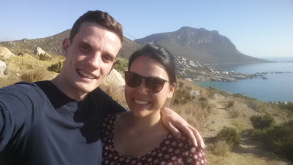 We planned to move to London together, when I would start my job at Google. Before that we did a big trip in South Africa, visiting Cape Town, driving the garden route, and then going on safari in Kruger.