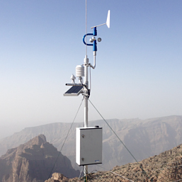 TIE Automatic weather station at H2, Oman.